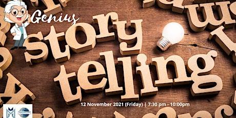 Online Public Speaking Extravaganza - Genius Storytelling tickets