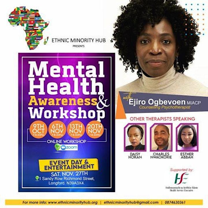 Mental Health Awareness & Workshop image