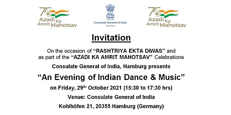 An Evening of Indian Dance & Music Tickets