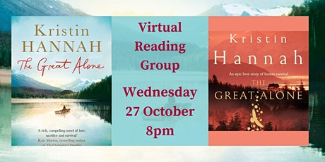 Virtual Reading Group - The Great Alone by Kristin Hannah tickets