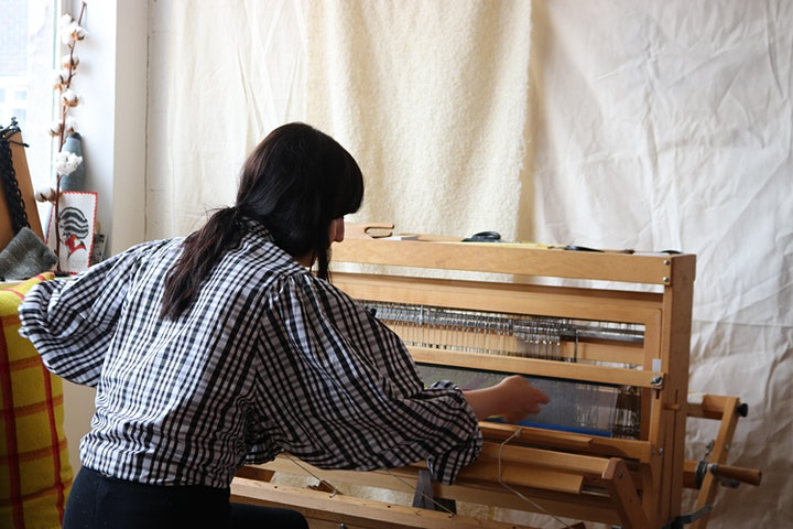 Hollie Ward: Hand Weaving and Hand Spinning session image