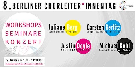 8. Berliner Chorleiter*innentag Tickets