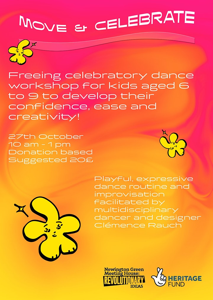 Half Term Dance Workshop with Clemence Rauch - for ages 6-9! image
