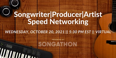 Songwriter/Producer/Artist Speed Networking tickets