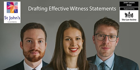 Drafting Effective Witness Statements tickets