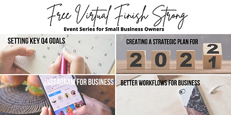 Virtual Finish Strong Event Series tickets
