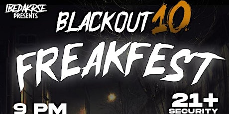 Blackout 10 tickets