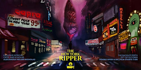 The New York Ripper - Gialloween Screening at The Backlot! tickets