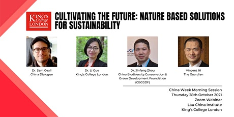 Cultivating the Future: Nature Based Solutions to Sustainability tickets