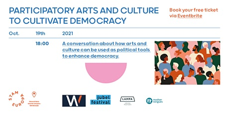 Participatory Arts and Culture to cultivate Democracy tickets