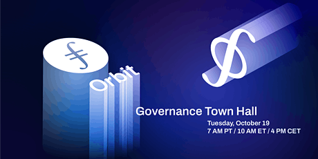 Filecoin Governance Town Hall tickets