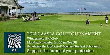 GA ASLA 2021  Golf Tournament tickets