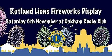 Fireworks Display tickets