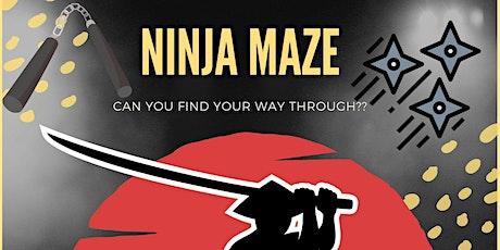 NINJA MAZE! Free Community Event! tickets