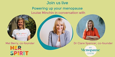 Demystify the menopause, power up your wellbeing and thrive! tickets