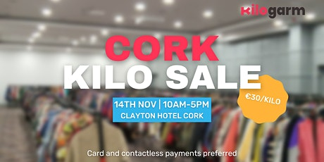 Cork Kilo Sale Pop Up 14th November tickets