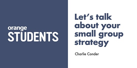 Let's Talk About Your Small Group Strategy tickets