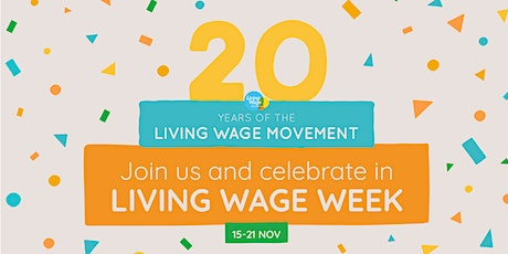 Living Wage Week 2021 North Wales Launch tickets