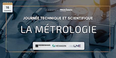 Journée technique et scientifique MÉTROLOGIE billets