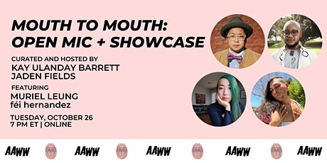 Mouth to Mouth: Open Mic and Showcase tickets