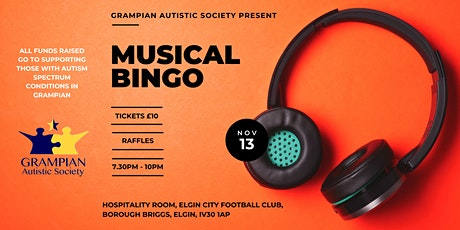 Musical Bingo tickets