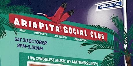 Ariapita Social Club: Soca, Dancehall, Afrobeats, Reggaeton + Live Music! tickets