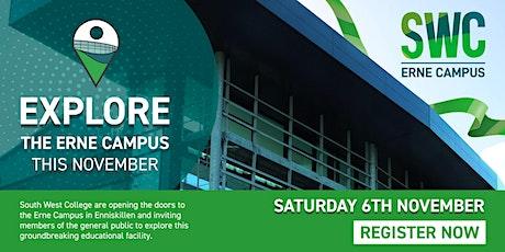 Erne Campus - Public Tours tickets