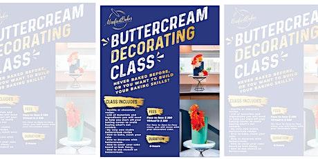 Buttercream Decorating Class tickets