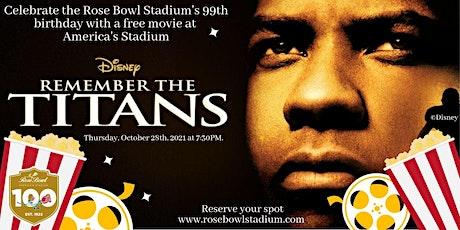 Rose Bowl Stadium's 99th Birthday Celebration tickets