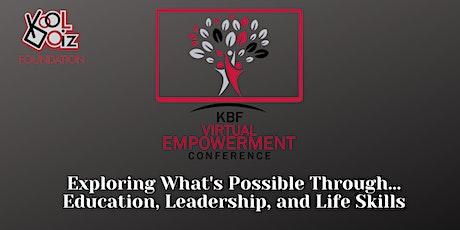October Kool Boiz Foundation Young Men's Virtual Empowerment Conference tickets