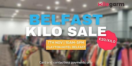 Belfast Kilo Sale Pop Up 7th November tickets
