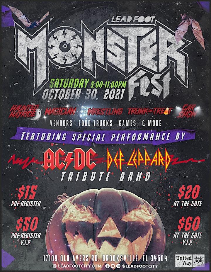 Monster Fest, AC/DC & Def Leppard Tribute Concert, Car Show, Wrestling... image
