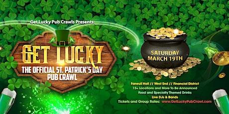8th Annual Get Lucky Pub Crawl- Boston's Biggest St. Patricks Day Pub Crawl tickets