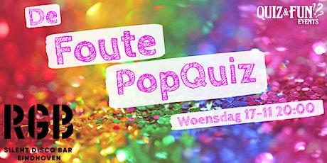 De Foute PopQuiz | Eindhoven tickets