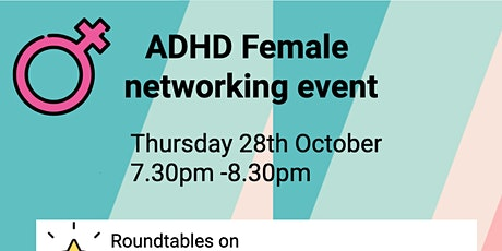 ADHD females networking event tickets
