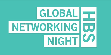 HBS Global Networking Night 2021 tickets