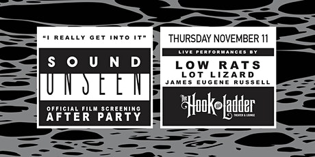 Sound Unseen After-Party with Low Rats, Lot Lizard, James Eugene Russell tickets