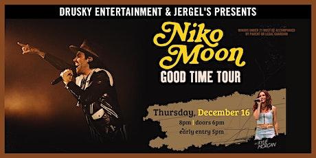 Niko Moon - The Good Time Tour tickets