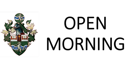 OPEN MORNING - For prospective Year 7 students starting in September 2022 tickets