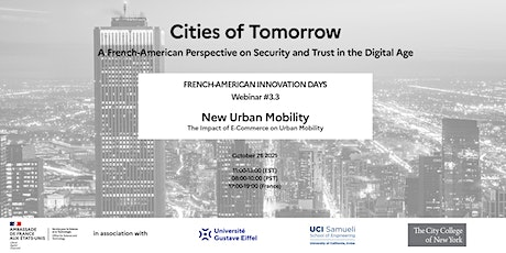 Cities of Tomorrow - Webinar #3.3- The impact of e-commerce on mobility tickets