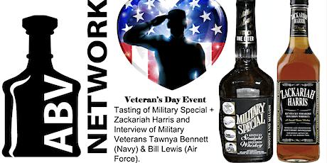 Veteran's Day Whiskey Tasting: Military Special & Zackariah Harris (+ more) tickets