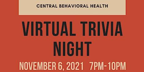 Central Behavioral Health - Virtual Trivia Night Fundraiser tickets