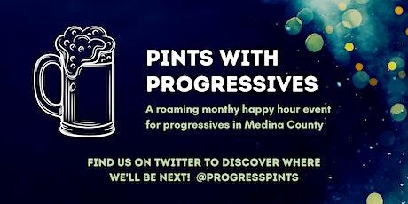 (virtual) - Pints with Progressives: A Roaming Medina Co. Social Hour tickets