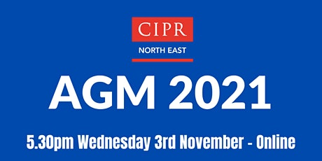 CIPR  North East AGM tickets