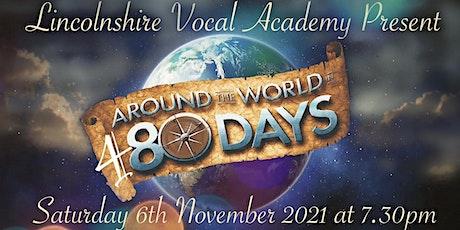 AROUND THE WORLD IN 480 DAYS. tickets