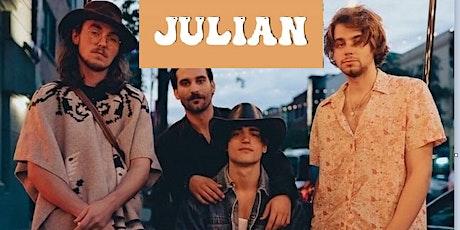 JULIAN Live at Barfly (+ August & Joseph + DJ PassPass) tickets
