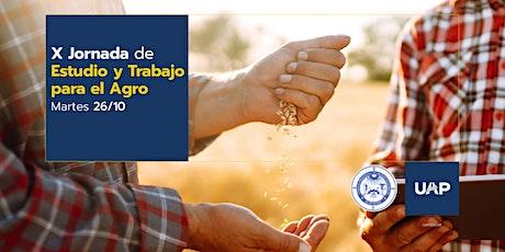 X JORNADAS DE ESTUDIO Y TRABAJO PARA EL AGRO entradas