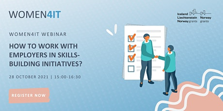 Women4IT Webinar: How to work with employers in skills-building initiatives tickets