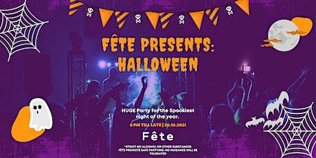 FÊTE PRESENTS: Halloween tickets