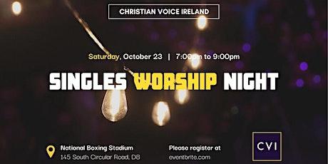 POSTPONED: Singles Worship Night tickets